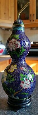 Cloisonne Fruit Shaped Vase