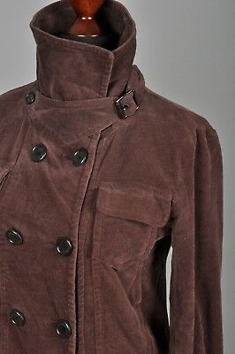 157d3d5ccb0 BURBERRY LONDON CROPPED Peplum Rain Jacket, Double Breasted ...