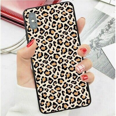 Leopard Print Wallpaper Pattern Mobile Phone Case Cover Samsung Iphone Huawei BR