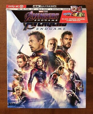 Avengers Endgame (4K UHD & Blu-ray discs, 2019) Target Excl Pre-Order *NO CODE*