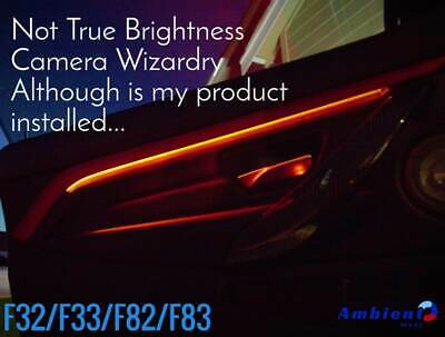 One Piece BMW F32 F33 F82 F83 Ambient Light Insert Track Mod Upgrade AmbientModz