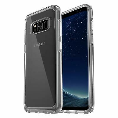 Genuine OtterBox Samsung Galaxy S8 Symmetry Series ShockProof Case Cover Clear