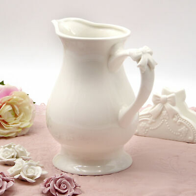 Brocca Shabby Chic Ceramica Bow Collection 12 x 19