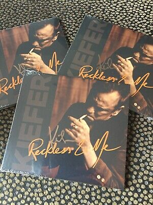 Kiefer Sutherland - Reckless & Me ( CD album 2019) * SIGNED *  - new and sealed