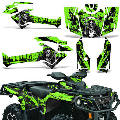 CAN-AM OUTLANDER MAX 500 650 800R GRAPHICS KIT CREATORX DECALS STICKERS SCY