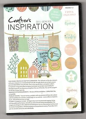 Crafters Companion, Crafters inspiration  issue 16 Double CD ROM