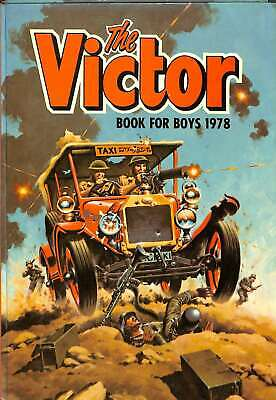 The Victor Book for Boys 1978 (Annual), D C Thomson, Good Condition Book, ISBN