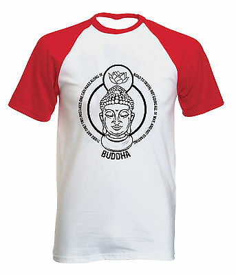 Buddha Two Mistakes Quote - New Cotton Baseball Tshirt All Sizes