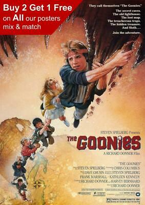 The Goonies 1985 Movie Poster A5 A4 A3 A2 A1