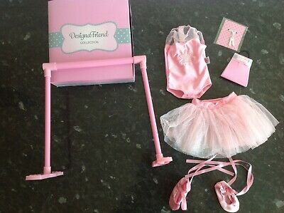 Design A Friend Ballerina Ballet Outfit Clothes For Chad Valley Designafriend