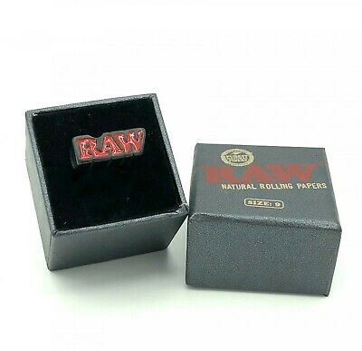 RAW Rolling Papers Black Smoker Ring - Limited Edition - SIZE 10