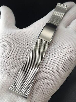 """Bracelet Milanesa/Mesh Watch Diver-Racing 20Mm Stainless """"New Old Stock 1970"""""""