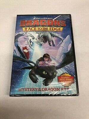 Dragons: Race To The Edge Mystery Of The Dragon Eye DVD + Short Film Collection