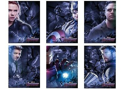 Avengers ENDGAME; Captain America, Thor, Ronin  A5 A4 A3 Movie & DVD Posters
