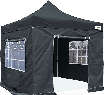 HERCULES GAZEBO® COMMERCIAL GRADE MARKET STALL POP UP TENT 3x3m  HEAVY DUTY 800d
