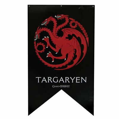 Game of Thrones New * Targaryen Sigil Banner * 30 x 50 Fabric Poster Print
