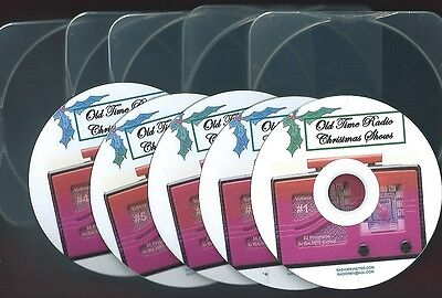 CHRISTMAS MEGA COLLECTION #1 OLD TIME RADIO 300 plus  SHOWS on 5 mp3 CDs OTR