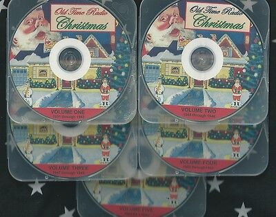 CHRISTMAS MEGA COLLECTION #2 *NEW 2014* 300+ OLD TIME RADIO SHOWS 5 mp3 cd OTR