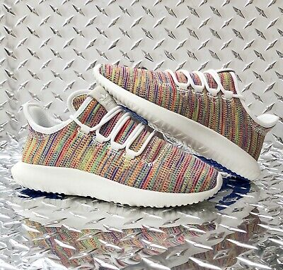 sports shoes 3fd60 ae3ca NEW ADIDAS TUBULAR Shadow Rainbow Sneakers Big Kids Girls Size 5 / Womens  6.5