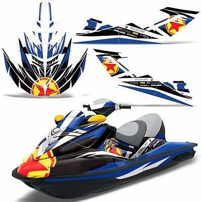 SEADOO RXT 05-09 GTX 215 Graphics Kit Jet Ski Graphic Kit Decals