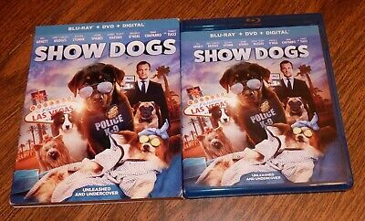 Show Dogs (2018) Blu-Ray Blu Ray DVD [no digital code] Universal DTS Very Nice!