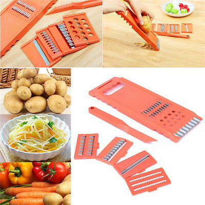 Kitchen Vegetable Fruit Potato Slicer Peeler Dicer Cutter Chopper Grater BL3
