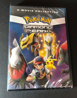 Pokemon Diamond and Pearl 4-Movie Collection (DVD) NEW