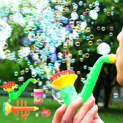 Water Blowing Toys Bubble Soap Bubble Blower Outdoor Kids Child Toy Random Color