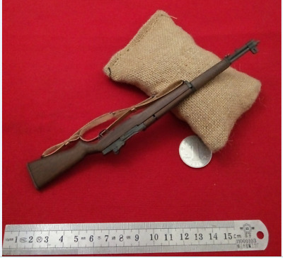 "1:6 Scale United States Rifle M1 Garand Weapon Model Toy Fit 12"" Soldier Figure"