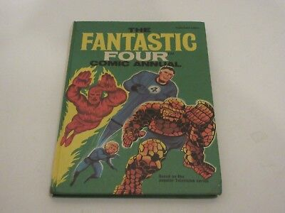 FANTASTIC FOUR Comic Annual - 1969 - unclipped and  - Very good Condition