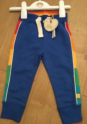 Little Bird By Jools Oliver Age 12-18 Months  Boys/Girls Rainbow Joggers Bnwt