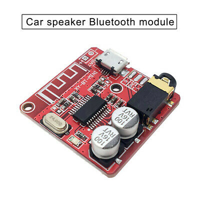 Bluetooth 4.1 Car Speaker Module Audio Receiver Board 3.5mm Stereo DIY Modified