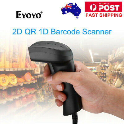Portable 2D Barcode Scanner Bar Code Reader for Apple IOS Android Windows 7/8/10