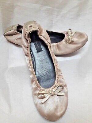 249ddc9ddff3f2 Ballerine Elasticizzate Donna Tommy Hilfiger Scarpe 37 Woman Shoes Schuhe