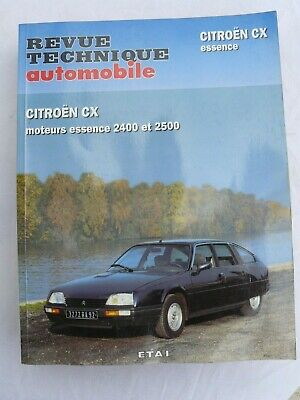 Revue Technique Citroen Cx Essence