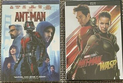 Marvel's: Ant-Man / Ant-Man And The Wasp (2-DVD Bundle) Brand New-Free USPS Ship