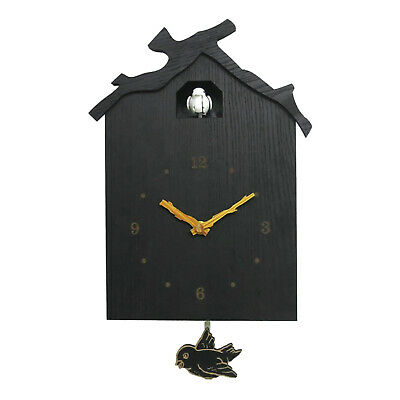 Cuckoo Bird Pendulum Wall Clock Battery Operated Wall Clock for Home School