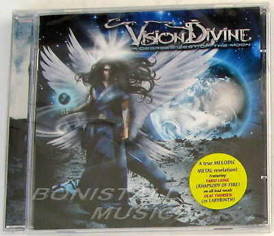 Vision Divine - 9 Degrees West Of The Moon - Cd Sealed