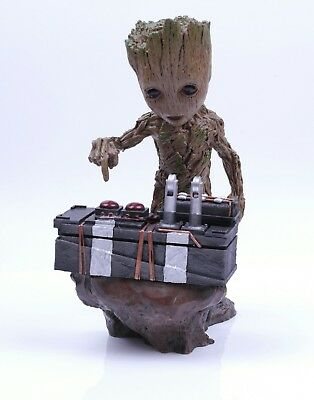 Guardians of The Galaxy Baby Groot Push Bomb F*** You Figure Toy Novelty Gift