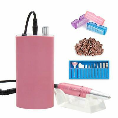 NEW Professional Rechargeable Nail Drill Portable Electric Nail File Manicure