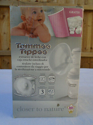 Tommee Tippee Closer To Nature Breast Pump Boxed