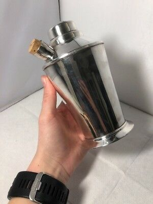 Vintage Original Art Deco Silver Plate Cocktail Shaker Plato EPNS Stylish