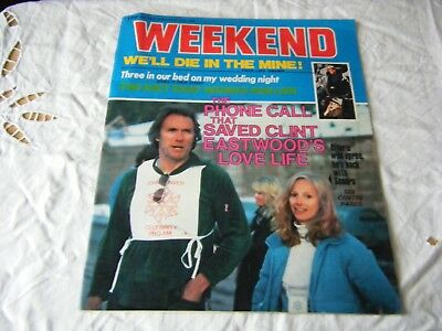 Weekend Magazine, Nov 5-11, 1980, Clint Eastwood cover