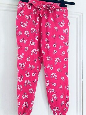 New girls summer trousers, 5-6 years
