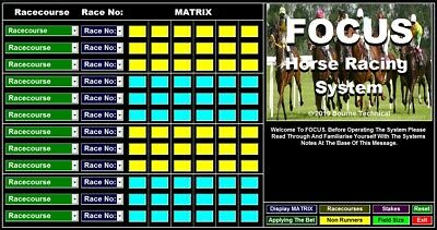 DOWNLOAD FOCUS Horse Racing System