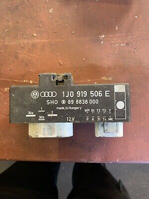 AUDI TT MK1 225 ENGINE FAN CONTROL RELAY MODULE 1J0919506K - £9 99
