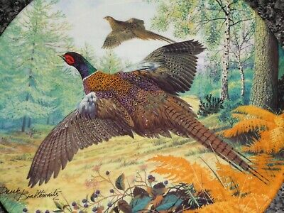 Royal Grafton Collectors Plate PHEASANT IN FLIGHT
