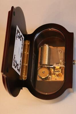 REUGE CYLINDER MUSIC BOX plays NOCTURNE by CHOPIN 1/36 GORGEOUS CASE clock work