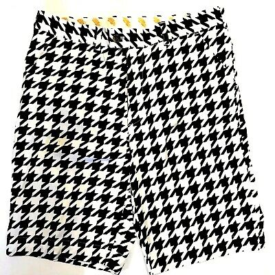354a0725b7 LOUDMOUTH GOLF MEN'S Retro Colorblock Striped Shorts 36 Some Guys ...