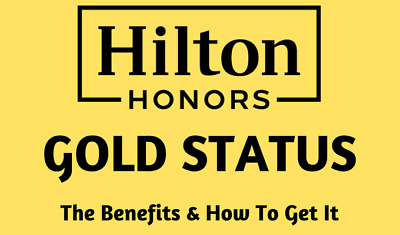 HILTON Honors GOLD Status Waldorf ASTORIA HOTEL UPGRADES LOUNGE FREE BREAKFAST